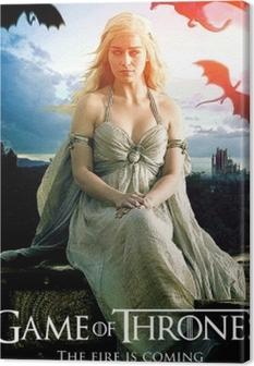 Canvas Daenerys Targaryen
