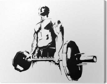 Canvas De Bodybuilder