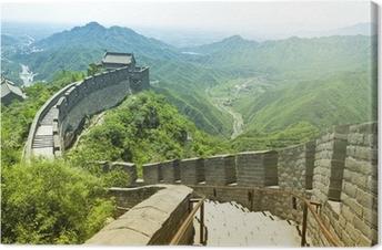 Canvas De Grote Muur van China