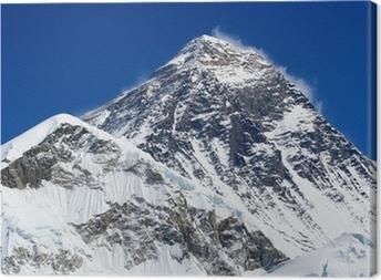 Canvas De hoogste berg ter wereld, Mount Everest (8850m)