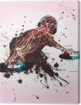 Canvas DJ Discoteca