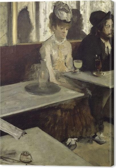 Canvas Edgar Degas - Absint - Reproducties