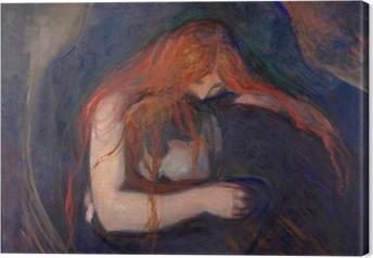 Canvas Edvard Munch - Vampier