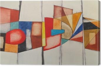 Canvas Een abstract aquarel