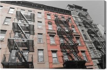 Canvas Een reis naar New York