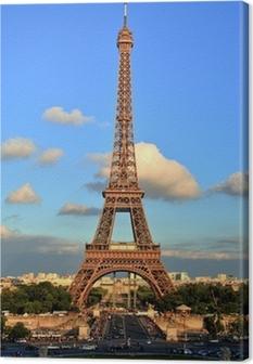 Canvas Eiffeltoren, Parijs.