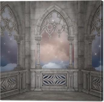 Canvas Elven paleis achtergrond