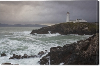 Canvas Fanad Head Lighthouse