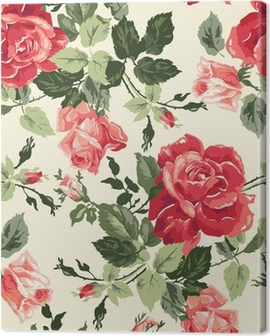 Canvas Fancy rose behang