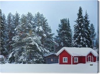 Canvas Finse huis