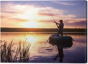 Canvas Fisherman