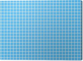 Canvas Fliesen hellblau tegel lichtblauw