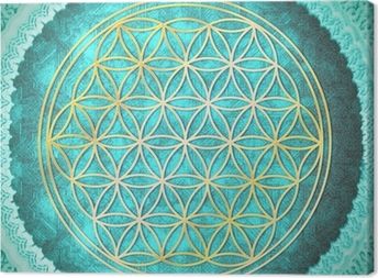 Canvas Flower of Life