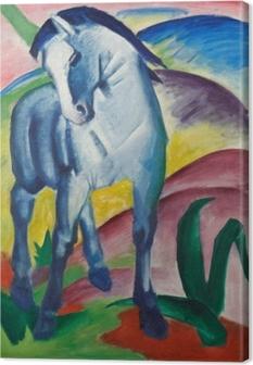 Canvas Franz Marc - Modrý kůň