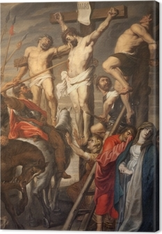Canvas Gent - Christus op het Kruis door Rubens