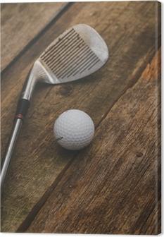 Canvas Golfbal