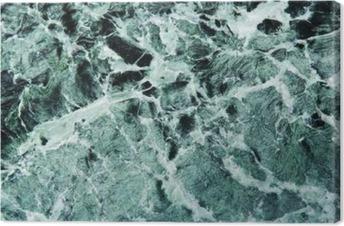 Canvas Grüner Marmor