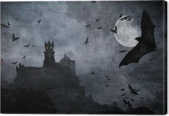 Canvas Halloween achtergrond