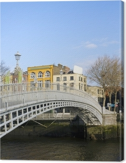 Canvas Hapenny Bridge