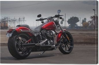 Canvas Harley Davidson