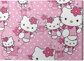 Canvas Hello Kitty