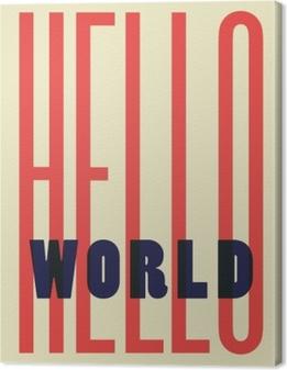 Canvas Hello World