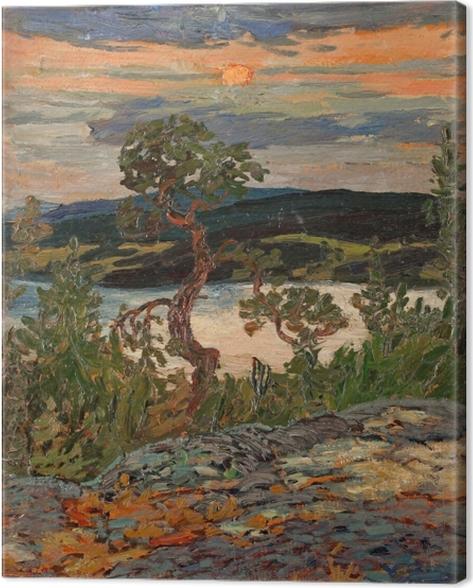 Canvas Helmer Osslund - Noc v Ångermanland - Reproductions