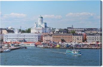 Canvas Helsinki, uitzicht vanaf de zee