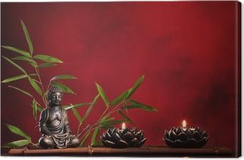 Canvas Het concept van Zen