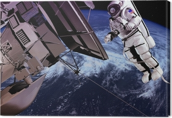 Canvas Het ruimteschip