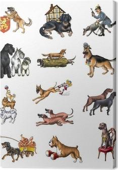 Canvas Honden