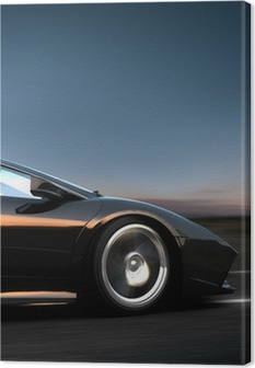 Canvas Italiaanse sportwagen