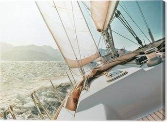 Canvas Jacht