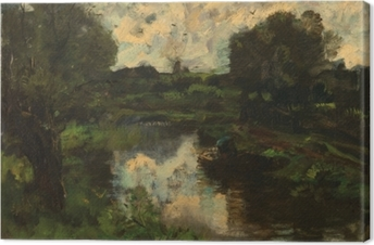 Canvas Jacob Maris - Jezero po bouři