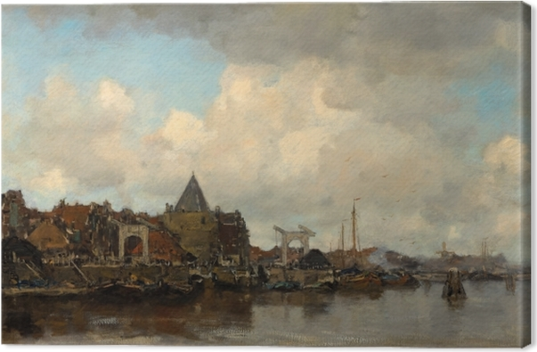 Canvas Jacob Maris - Schreierstoren - Reproductions
