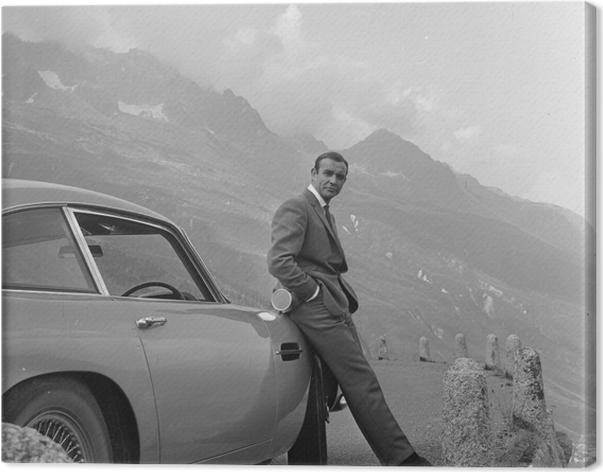 Canvas James Bond - Thema's