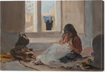 Canvas Jan Ciągliński - Nazaret. Z výletu do Palestiny