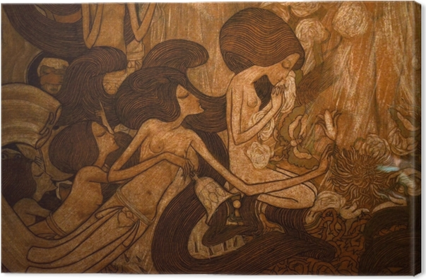 Canvas Jan Toorop - Tři nevěsty - Reproductions