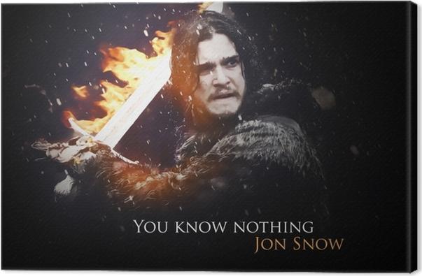 Canvas Jon Snow - Thema's