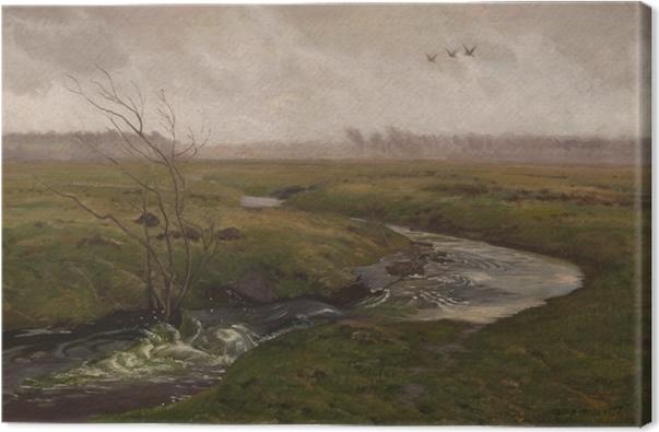 Canvas Józef Chełmoński - Jaro - Reproductions