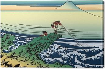 Canvas Katsushika Noord Zhai Jing Fu Yue zesendertig Een staat Shiban Ze の ra su Suites