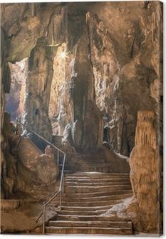 Canvas Khao Luang grot in Phetchaburi, Thailand