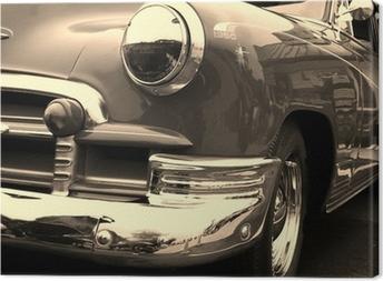Canvas Klassieke auto