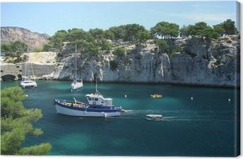 Canvas Kreken nabij Marseille