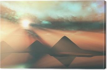 Canvas Langs de Nijl