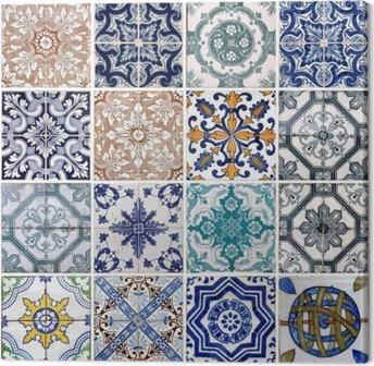 Canvas Lissabon tegels