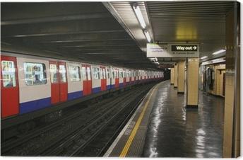 Canvas London underground station