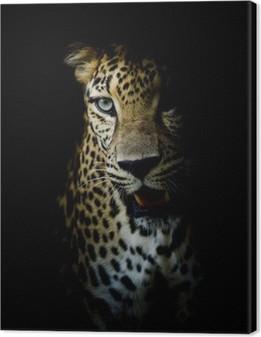 Canvas Luipaard portret