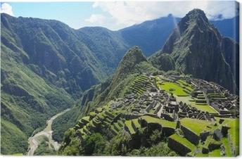 Canvas Machu Picchu (Peru)