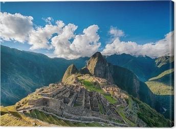 Canvas Machu Picchu